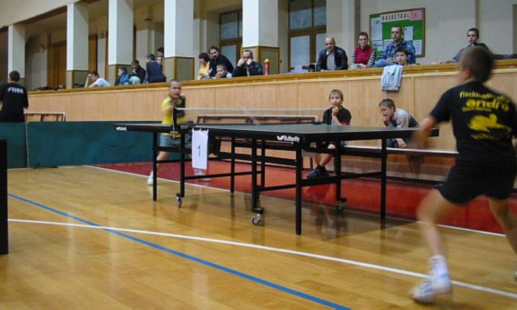 SLAVIA Kroměříž - stolní tenis